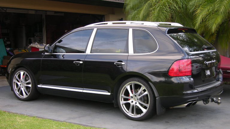 Porsche Cayenne | Airmatic Lowering Links